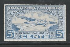 CANADA CL 44 - BRITISH COLUMBIA AIRWAYS 1928 Semi-Official Air Mail issue