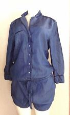 BLANK NYC Short Denim Romper Size  SMALL     #190