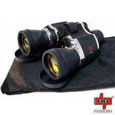 Day/Night 20x60 High Quality Outdoor Chrome Binoculars w/Pouch by Perrini