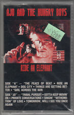 AJO AND THE HUNGRY BOYS - RIDE AN ELEPHANT (CASSETTE) BRAND NEW ! RARE TAPE !!
