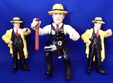 DICK TRACY 1990 Disney Figures Toys Lot of 3 Figurines-One Bendable