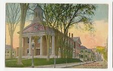 USA, Court House, New Bedford, Mass. Postcard, A807