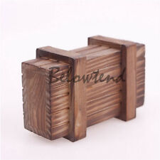 Nice Raw Wood Magic Puzzle Wooden Compartment Secret Box Intelligence Trinket