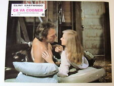 CLINT EASTWOOD SONDRA LOCKE LOBBY CARD PHOTO D'EXPLOITATION CA VA COGNER