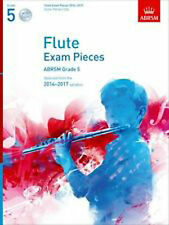 Flute Exam Pieces 2014-2017 Grade 5 Syllabus Sheet Music and backing CD B26