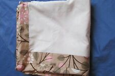 New Dwell Studio Baby/Infant Garden Blossom Crib Skirt Pink~Beige Floral