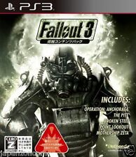 Used PS3 Fallout 3 PLAYSTATION 3 SONY JAPAN JAPANESE IMPORT