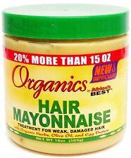 Organics Hair Mayonnaise Treatment For Week, Damaged hair By Africa's Best 426g