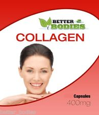 MARINE COLLAGEN 180 x 400mg CAPSULES Skincare Anti Ageing Better Bodies