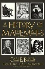 A HISTORY OF MATHEMATICS BY CARL B. BOYER (1991, Paperback, revised)