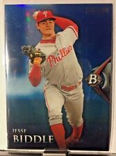 2014 BOWMAN PLATINUM BLUE #'d/199 JESSE BIDDLE PHILLIES     WM17