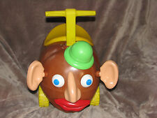 VINTAGE MR POTATO HEAD 1973 RIDE ON TOY WITH ACCESSORIES