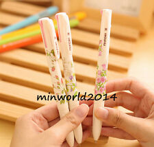 3PCS Korean Stationery Summer Story Multicolor Ball Point Pens 4 Colors in 1 Pen