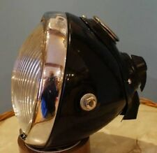 "NEW 6 1/2"" LUCAS DU42 HEADLIGHT HEADLAMP BSA TRIUMPH NORTON AJS SUNBEAM"