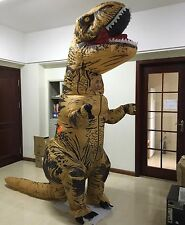 T Rex Dinosaur Full Body Inflatable Adult Size Costume Dressup Cosplay
