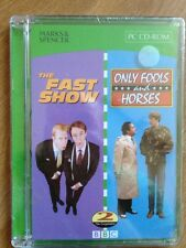 The Fast Show/Only Fools And Horses PC CD-ROM Computer Game M&S New+Sealed BBC