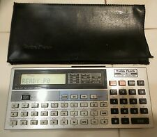 TRS-80 Radio Shack Pocket Computer PC-4 with Rare Ram Module TRS80