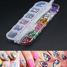 3600X Nail Art Transfer Stickers 3D Manicure Tips DIY Decal Decorations Bling