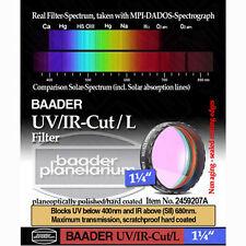 "Baader Planetarium 1.25"" UV IR CUT Filter  #  FUVIR-1  #  2459207A"