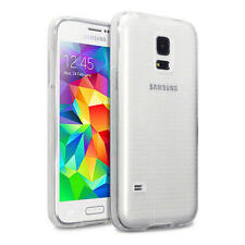 Slim Full Clear Rubber Gel Case Cover for Samsung Galaxy S5 Mini