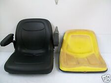 BLACK SEAT JOHN DEERE 130,160,165,316,318,322,330,332,420,430,STX38 MOWERS #GS