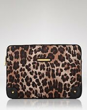JUICY COUTURE TAN ANIMAL CHEETAH LEOPARD LAPTOP CASE ORG. $98.00 BNWT