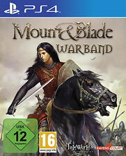 Playstation 4 Spiel: Mount & Blade: Warband PS-4 Neu & OVP
