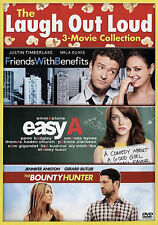 The Bounty Hunter/Easy A/Friends With Benefits (DVD, 2015, 2-Disc Set)