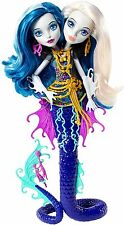 Monster High Gran scarrier Reef Peri y Perla Serpentina Muñeca Idea de Regalo * Nuevo *