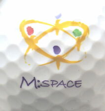(1) MI SPACE FACEBOOK LOGO GOLF BALL