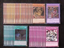 YU-GI-OH 41 CARD URIA LORD OF SEARING FLAMES DECK  *READY TO PLAY*
