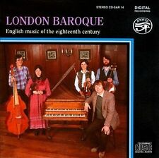 London Baroque: English Music of the Eighteenth Century, New Music