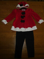 BNWT baby girl 3-piece outfit. Fleece jacket & hat, leggings. 18-24mth. 'Camilla