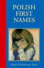 Polish First Names-ExLibrary