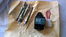 CASE INTERNATIONAL GLOW TIMER + 4 GLOW PLUGS   P/N NGK S84NB - EX ARMY RESERVE