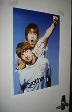 Oasis Gallagher Man City Fans Great New POSTER