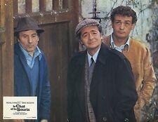 SERGE REGGIANI LEOTARD LE CHAT ET LA SOURIS 1975 PHOTO D'EXPLOITATION N°8