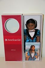 American Girl Cecile Doll & Book Set Brand New NIB Never Removed from Box