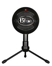 Blue Microphones Snowball iCE USB Microphone - Black  Mac PC Laptop - BRAND NEW