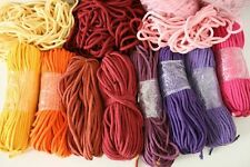 Baumwollkordel in 30 Farben, Ø 5 mm mit Kern, mintgrün