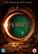 Hobbit Trilogy 1 - 3 DVD Box set Part 1 2 3 Brand New & Sealed UK Region 2 R2