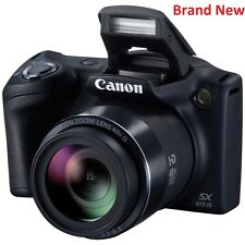 "Canon PowerShot SX410 20MP 40x Zoom Bridge Camera - Black ""Brand New"""
