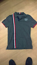 GENUINE ASTON MARTIN RACING Le MANS GREY GB59 V8 GTE POLO Size = MEDIUM  EX CREW