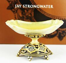 JAY STRONGWATER DARGEELING ALABASTER SOAP DISH TRAY SWAROVSKI NEW MADE IN USA