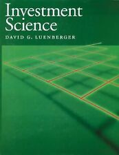 Investment Science by Luenberger, David G.