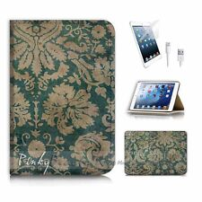 iPad Mini Gen 1 2 3 Flip Phone Case Cover PB10409 Vintage Flower