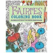 Chartwell Coloring Bks.: Fairies Coloring Book : Charming Pictures of the...