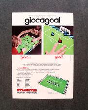 [GCG] N280 - Advertising Pubblicità - 1974 - ATLANTIC,GIOCAGOAL SOLDATI D'ITALIA
