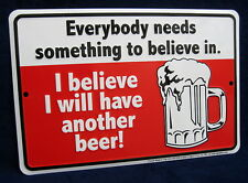 HAVE ANOTHER BEER - *US MADE* Embossed Metal Tin Sign - Man Cave Garage Bar Pub