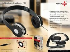 C28-Folding Stereo Headphones